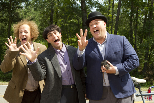The Three Stooges Cast