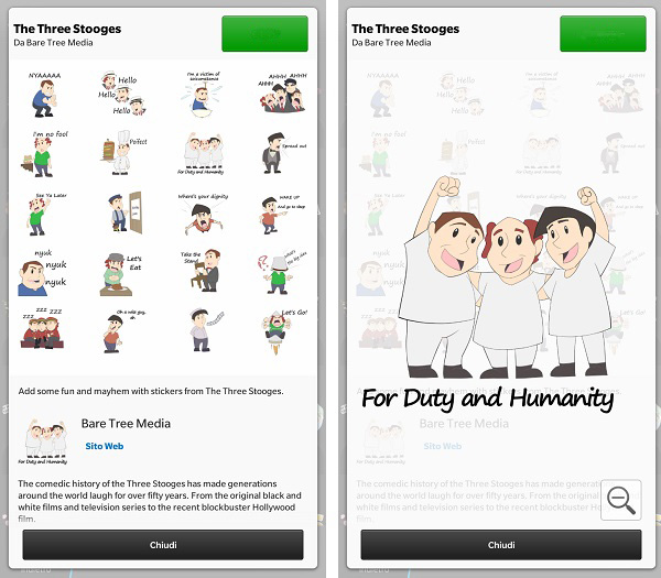 The Three Stooges BBM Stickers