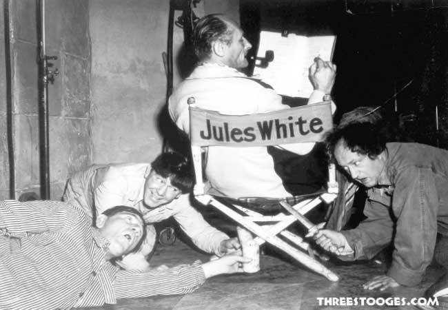 Shemp, Moe, Jules White, Larry Fine